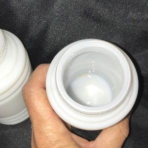 Vintage Dining - Vintage Hazel Atlas Milk Glass Salt/Pepper Shakers
